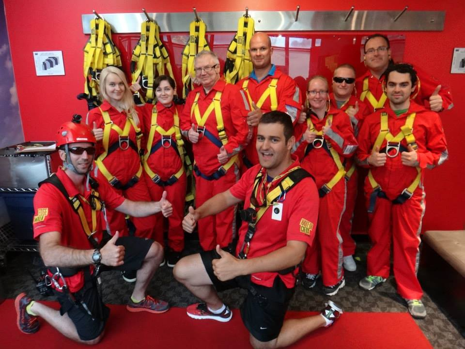 Our entire Edgewalk Group