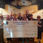 The Smart Panda - St Thomas Railway City Rotary Donation