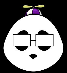 Smart Panda - Propeller Hat