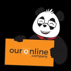 Smart Panda - OurOnline.Company - Panda with Sign